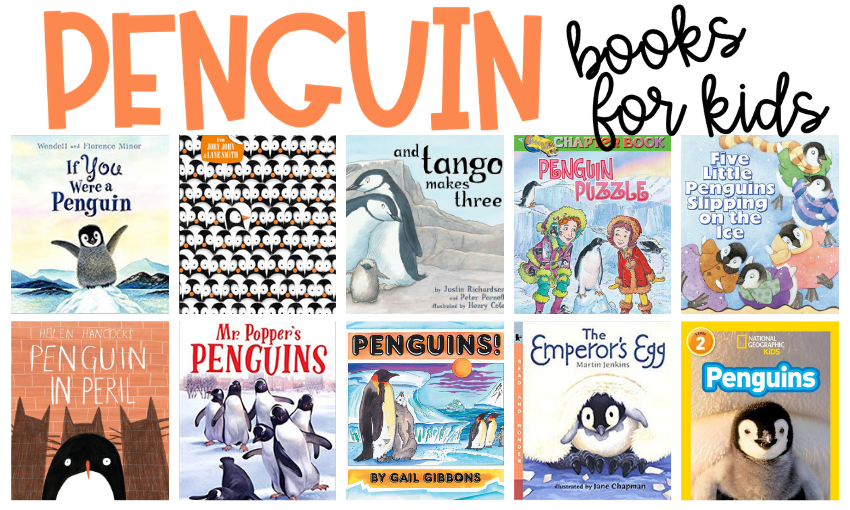 January may not bring Antarctic temperatures your way, but that shouldn't stop you from reading about penguins. Here are some of my favorite penguin books for kids. I have included some great nonfiction choices along with some fun fictional characters, too!