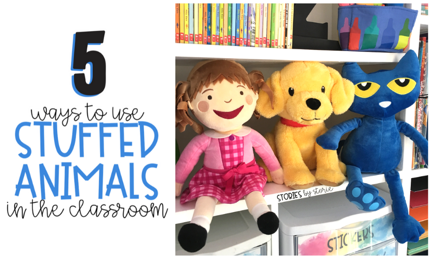 Having stuffed animals in the classroom can provide emotional comfort and academic support. Here are five ways you can use stuffed animals in the classroom.