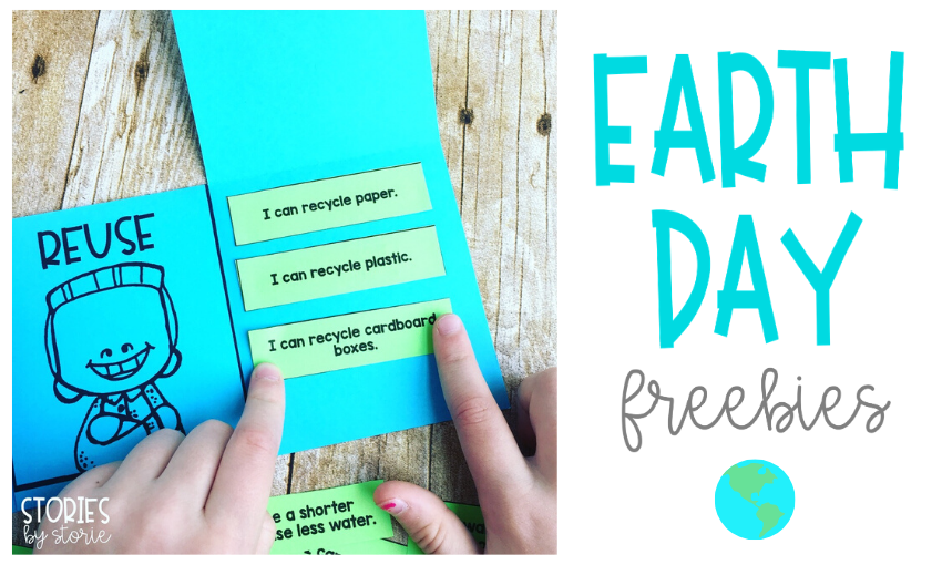 Do you need a quick activity for Earth Day? I have a reduce, reuse, and recycle sorting activity along with some coloring pages that your students will enjoy!