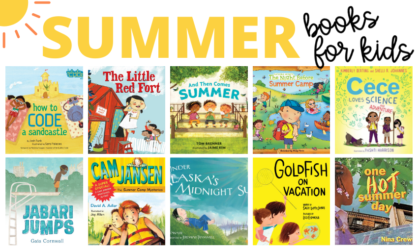 When you think about summer, what comes to mind? For my kids, it's swimming, running barefoot through the grass, a trip to the amusement park, and eating popsicles before they melt. Here are some great children's books about summer that help capture those moments and memories.