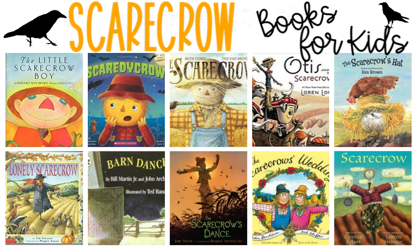 Are you ready for fall? We are! We recently visited our local library to refresh our book collection. While we were there, I grabbed a handful of scarecrow books to read. After we enjoyed a few of the books, I showed my kids how to draw their very own scarecrows. I thought I would share some of my favorite scarecrow books and a directed drawing with you.